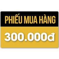 Phiếu mua hàng 300.000đ