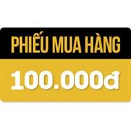 Phiếu mua hàng 100,000đ