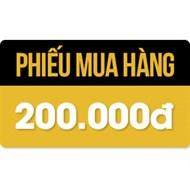 Phiếu mua hàng 200.000đ