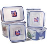 Bộ hộp nhựa đựng thực phẩm Lock&Lock HPL818SHP 6 cái (Khuyến mãi)