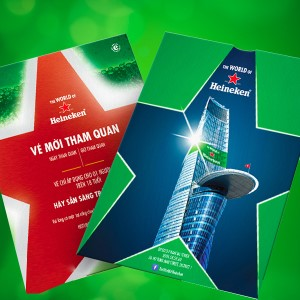 Vé tham quan Heineken World