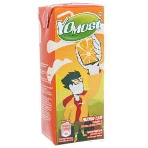 Sữa chua uống Yomost hương cam phiên bản giới hạn hộp 170ml