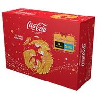 Thùng nước ngọt Coca Cola 24 lon - KM