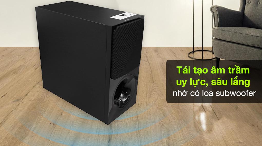 Dàn loa Sony HT-CT390 - Loa subwoofer không dây cho những âm trầm sâu lắng tràn ngập
