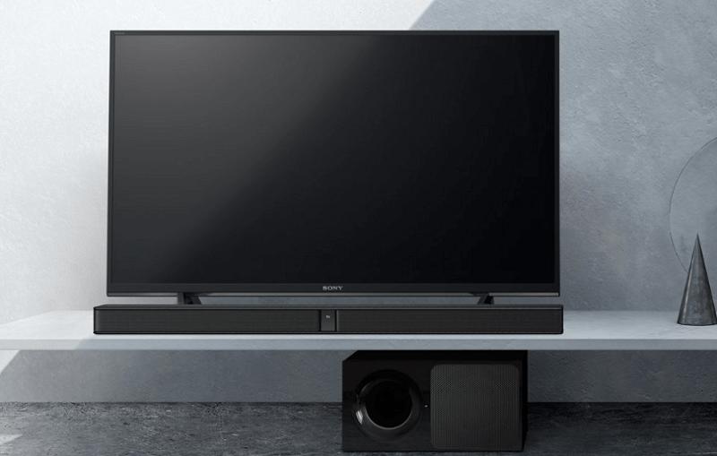 Dàn loa Sony HT-CT290/BM 300W – Thiết kế hiện đại