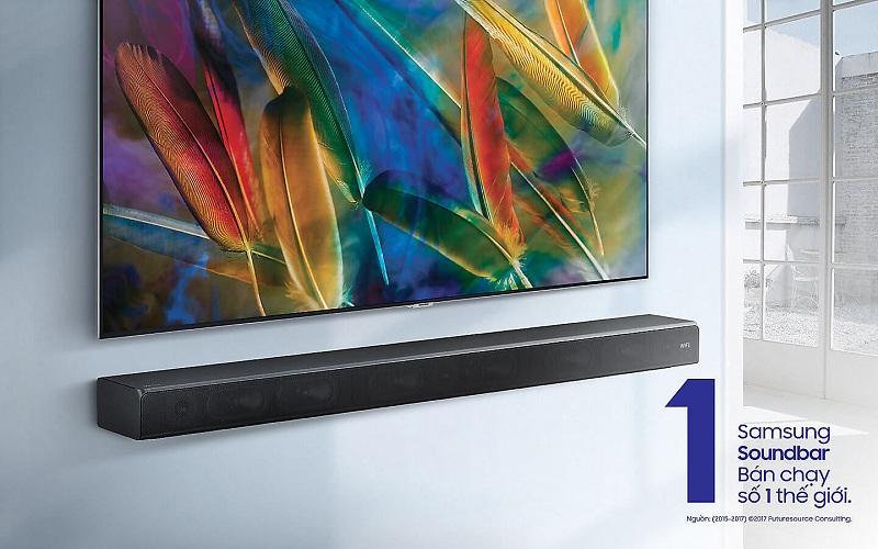 Loa thanh Samsung HW -MS550 450W – Kiểu dáng hiện đại