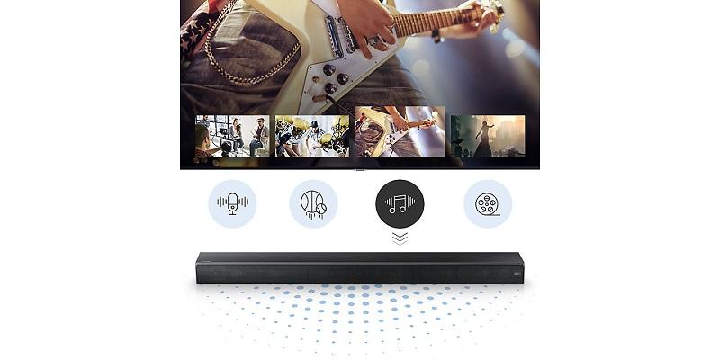 Loa thanh Samsung HW -MS550 450W – Chế độ Âm thanh thông minh