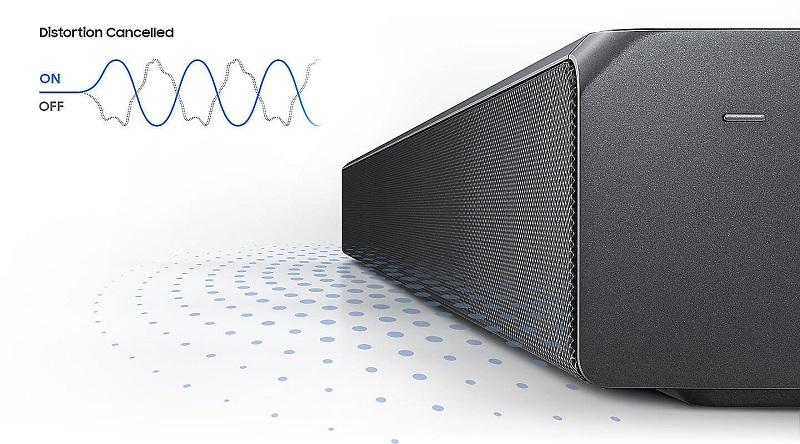 Loa thanh Samsung HW -MS550 450W – Âm trầm mạnh mẽ