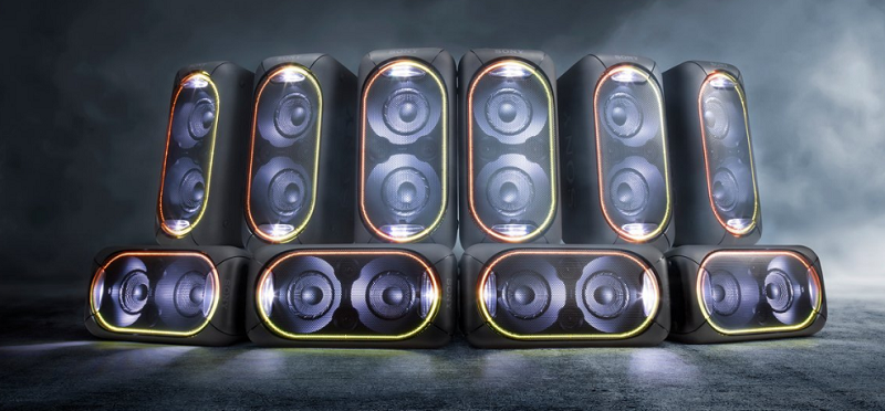 Dàn âm thanh Hifi Sony GTK-XB60 – Kiểu dáng hiện đại, cá tính