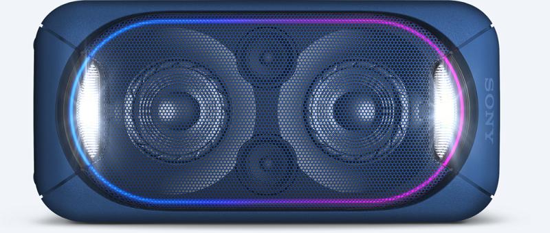 Dàn âm thanh Hifi Sony GTK-XB60 – Đèn loa nhiều màu sắc