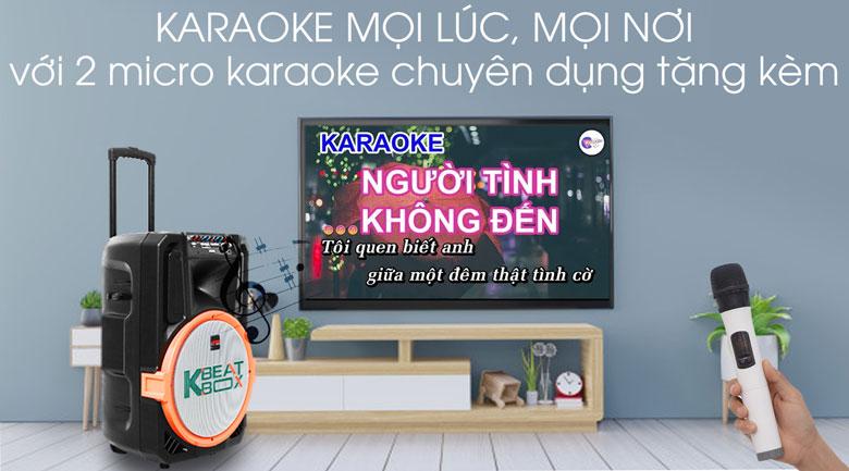 Dàn karaoke di động Acnos KB39S 300W - Karaoke