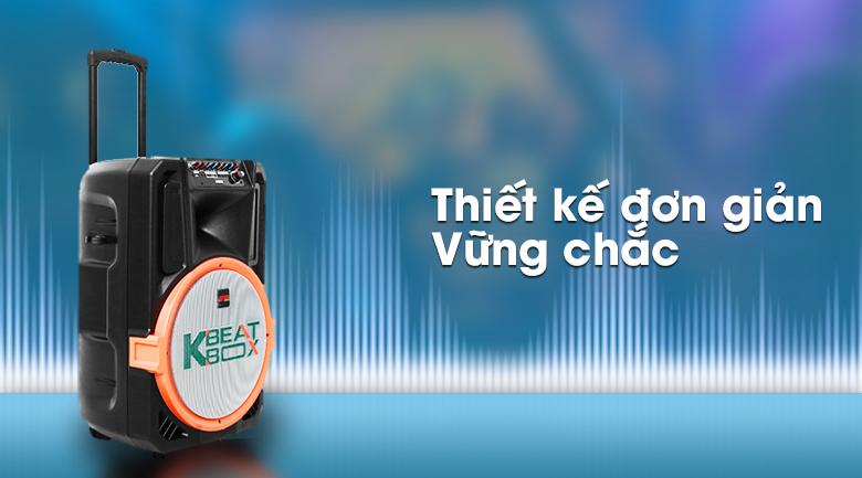 Dàn karaoke di động Acnos KB39S 300W - Thiết kế