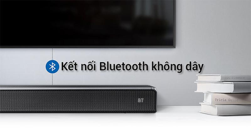 Loa thanh HW-N450/XV kết nối không dây Bluetooth với tivi