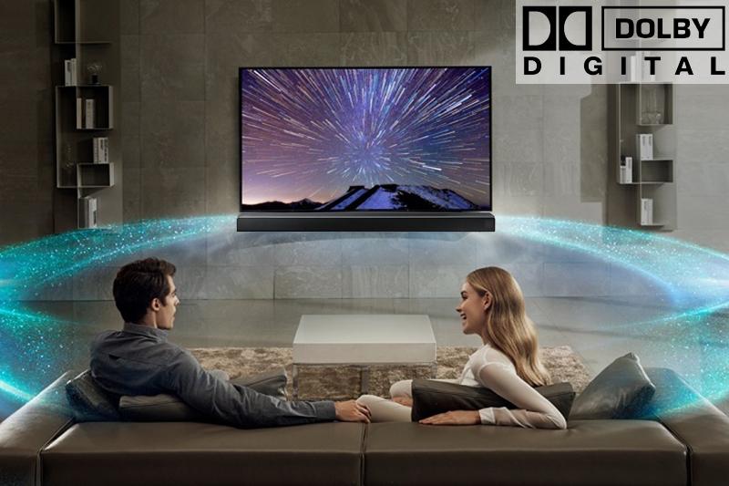 Công nghệ âm thanh Dolby Digital trên loa thanh HW-N450/XV