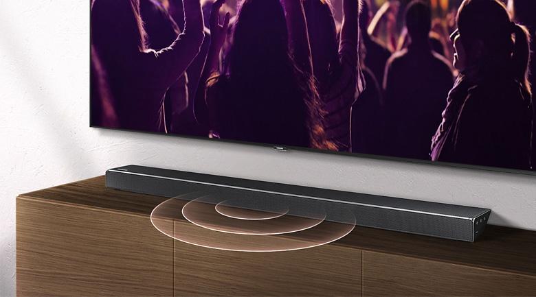 Công suất mạnh mẽ trên Loa thanh Samsung HW-N650/XV