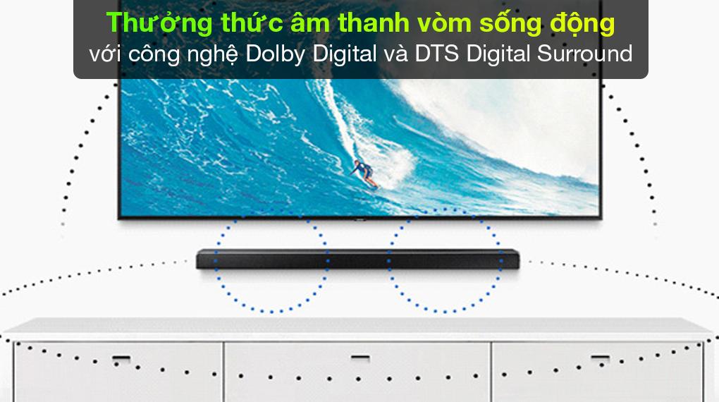 Công nghệ Dolby Digital trên Loa thanh Samsung HW-N650/XV