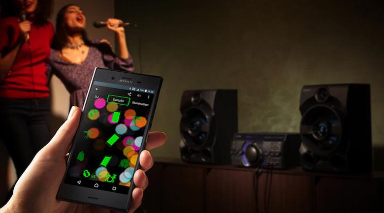 ứng dụng Sony Music Center trên Dàn âm thanh Sony MHC-M40D
