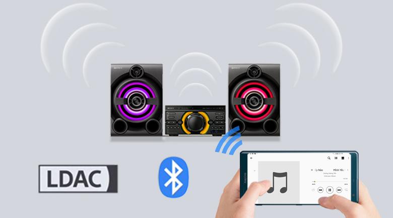 Nâng cao chất lượng âm nhạc hiệu quả trên Dàn âm thanh Sony MHC-M60D