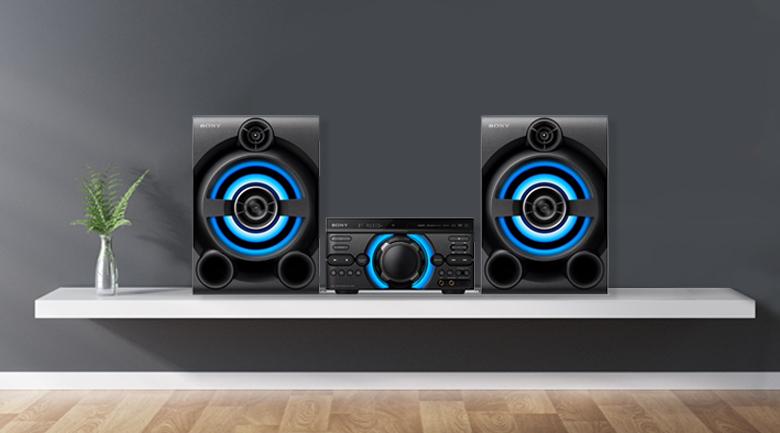 Thiết kế nổi bật, phong cách trên Dàn âm thanh Sony MHC-M60D