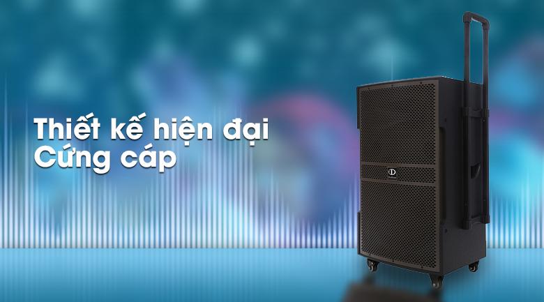 Thiết kế trên Loa kéo karaoke Dalton TS-15G600N 600W
