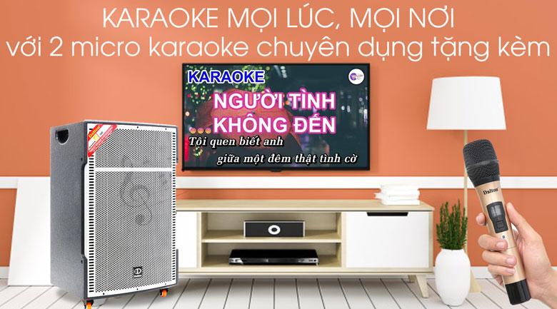 Loa kéo karaoke Dalton TS-18G850N 850W - Karaoke