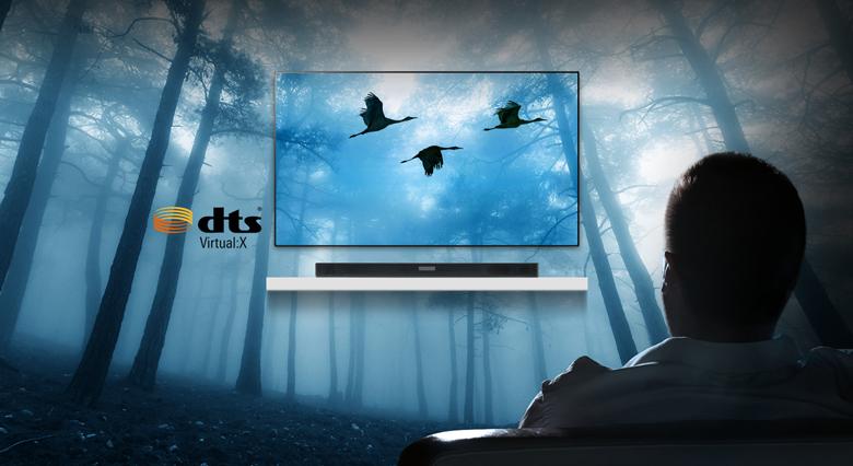 công nghệ DTS Virtual: X trên Loa thanh soundbar LG 4.1 SK5R 480W
