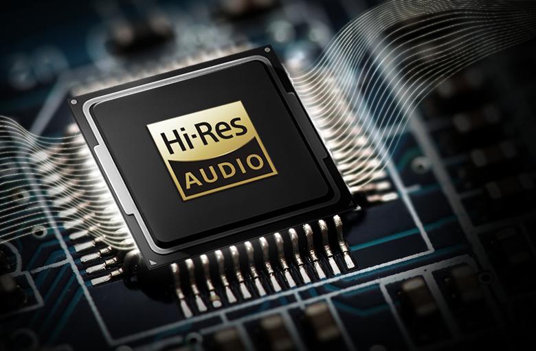 Âm thanh độ phân giải cao Hi-Res Audio trên Loa thanh soundbar LG 4.1 SK5R 480W