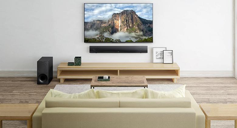 Tổng quan thiết kế Loa thanh soundbar Sony 2.1 HT-NT5 400W
