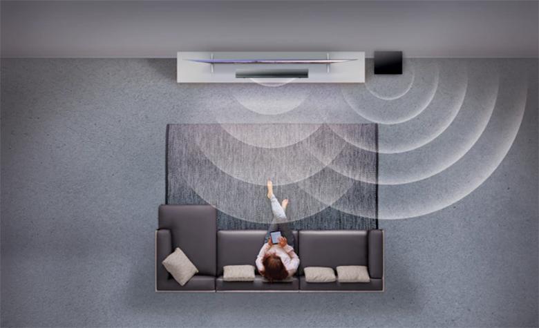 Công nghệ âm thanh vòm trên Tổng quan thiết kế Loa thanh soundbar Sony 2.1 HT-NT5 400W