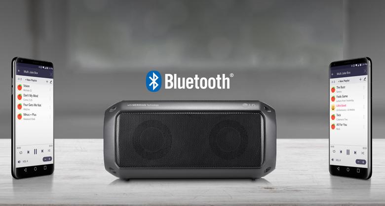 Kết nối Bluetooth dễ dàng trên Loa Bluetooth LG PK3