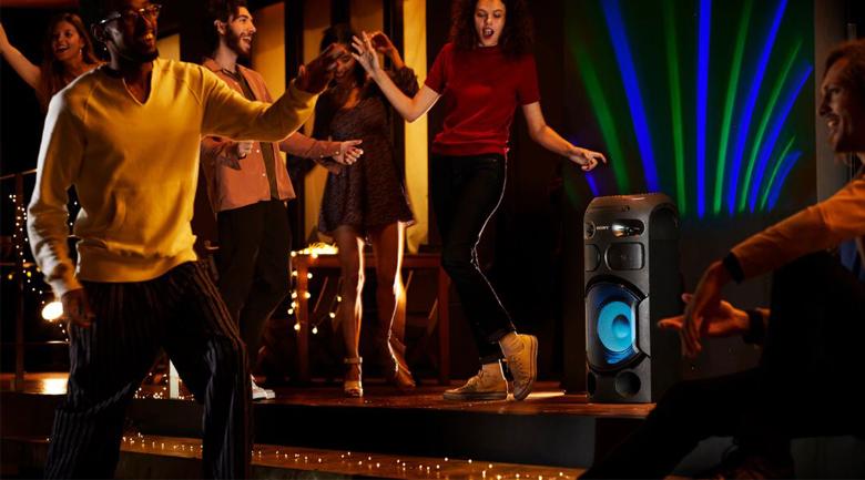 ClearAudio+ - Dàn âm thanh Hifi Sony MHC-V41D