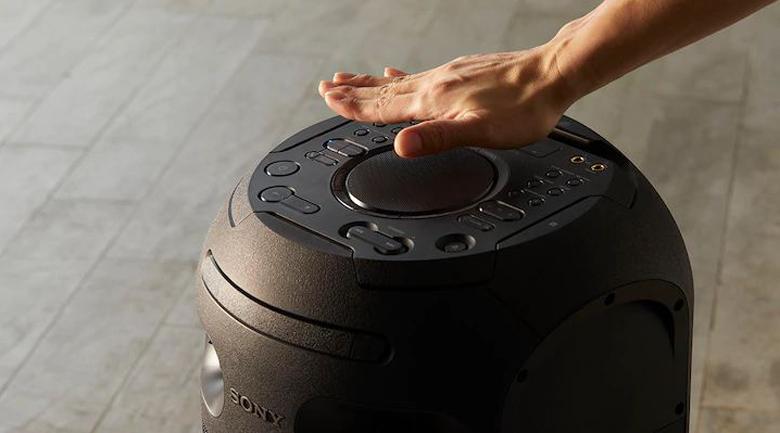 Hiệu ứng DJ - Dàn âm thanh Hifi Sony MHC-V41D