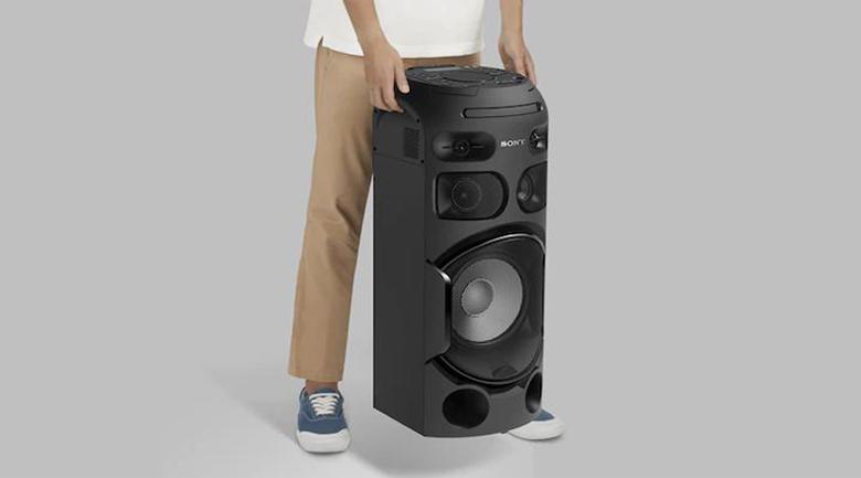 Thiết kế - Dàn âm thanh Hifi Sony MHC-V41D
