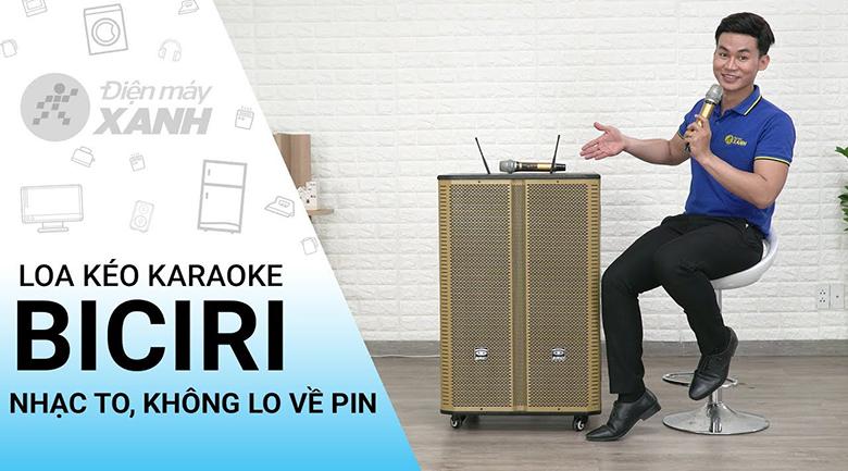 Loa điện Karaoke Birici MX-400