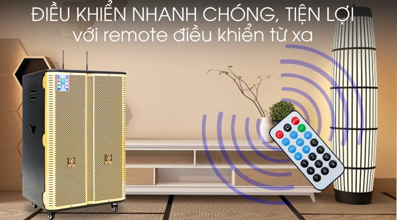 Loa điện Karaoke Birici MX-400 300W - Remote
