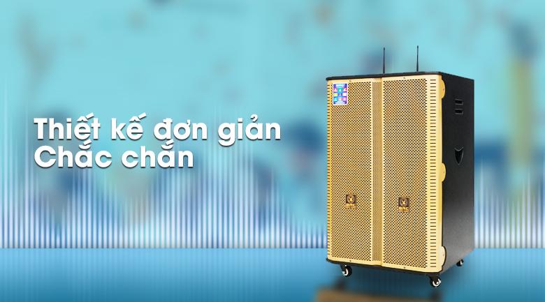 Loa điện Karaoke Birici MX-400 300W - Thiết kế