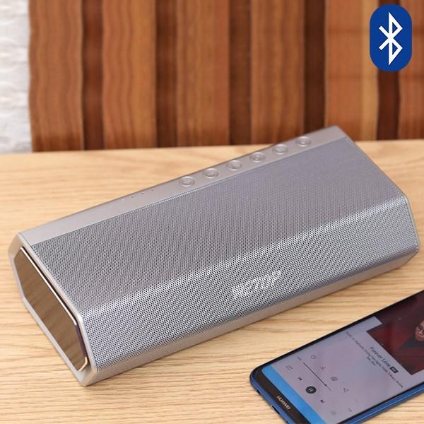 Loa Bluetooth Wetop H8008 Bạc 40 W