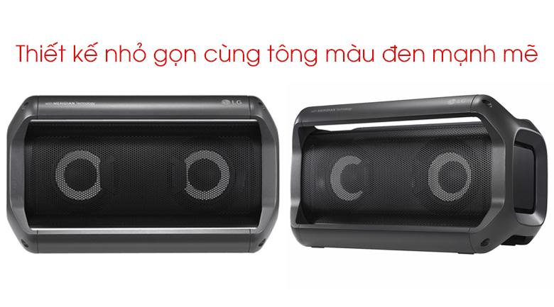 Thiết kế nhỏ gọn của Loa Bluetooth LG PK5
