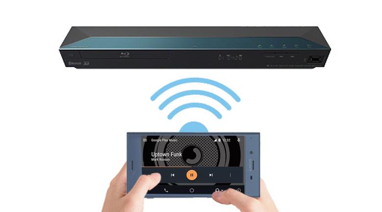 Truyền dữ liệu nhanh chóng trên Dàn âm thanh Sony BDV-E2100