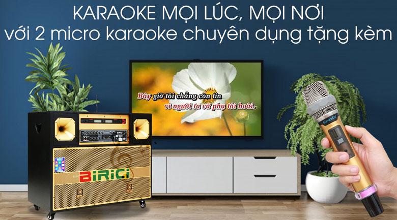 Loa điện Karaoke Birici MX-700 450W - Karaoke