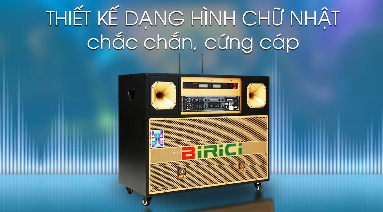 Loa điện Karaoke Birici MX-700 450W - Thiết kế