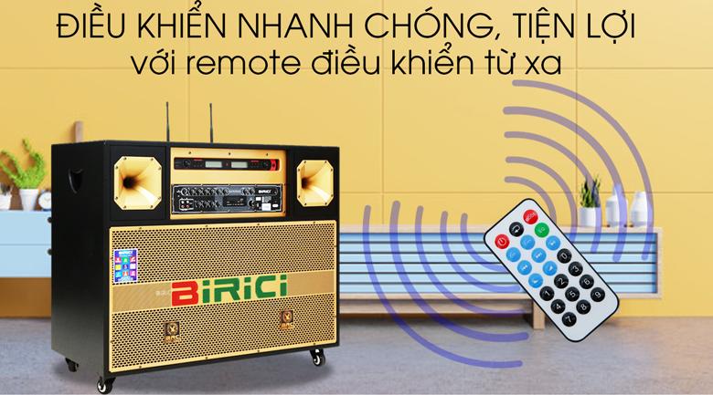 Loa điện Karaoke Birici MX-700 450W - Remote