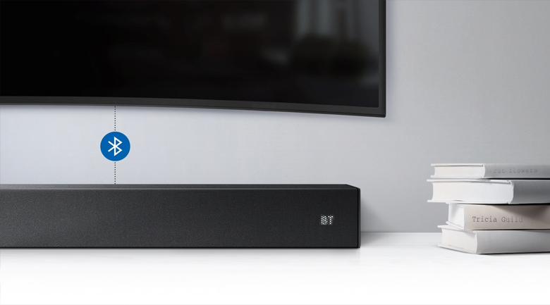 Loa thanh soundbar Samsung 2.1 HW-R450 200W - Kết nối Bluetooth