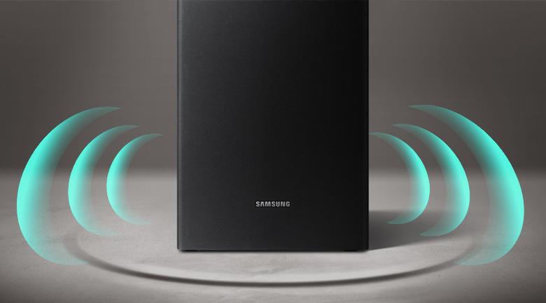 Loa thanh soundbar Samsung 2.1 HW-R550 320W - Loa trầm