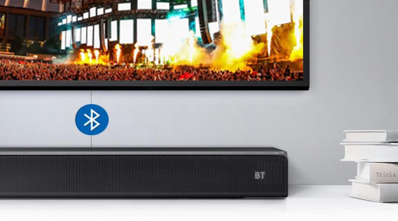 Loa thanh soundbar Samsung 3.1 HW-R650 340W - Kết nối Bluetooth