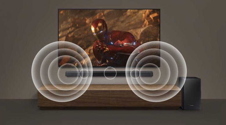 Loa thanh soundbar Samsung 3.1 HW-R650 340W - Công nghệ âm thanh