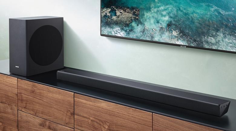 Loa thanh soundbar Samsung 3.1 HW-R650 340W - Thiết kế