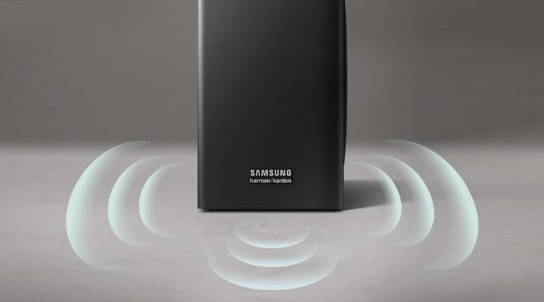 Loa thanh soundbar Samsung 5.1 HW-Q60R - Loa trầm