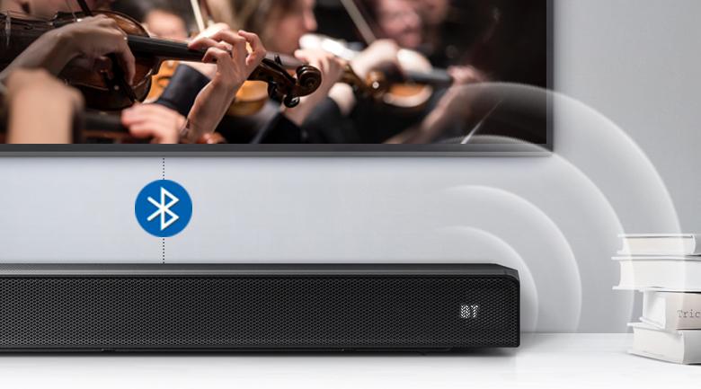 Loa thanh soundbar Samsung 5.1 HW-Q60R - Kết nối Bluetooth