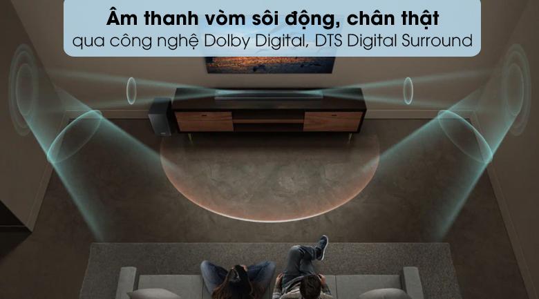 Loa thanh soundbar Samsung 5.1 HW-Q60R -DTS Digital Surround